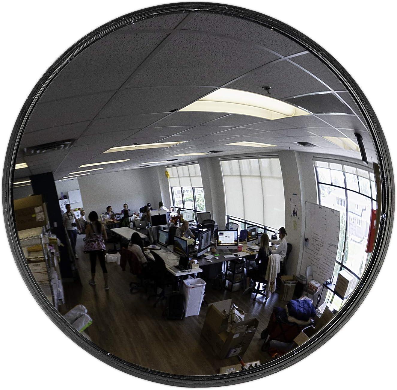 """26"""" Acrylic outdoor Convex Mirror - Vision Metalizers"""