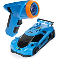 Air Hogs - Zero Gravity Laser Car - Wall Climber Technology - LED Laser Light Chaser - Blue - Ages 8+