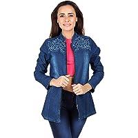 Meer India Garments Full Sleeve Denim Jackets for Women