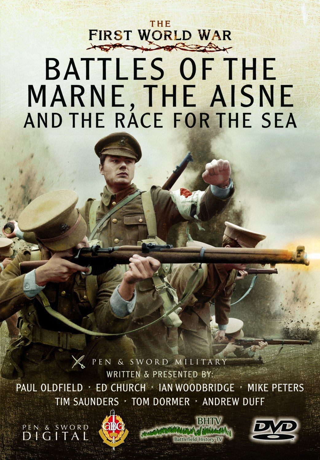 The Battles Of The Marne, The Aisne And The Race To The Sea [DVD] [Reino Unido]