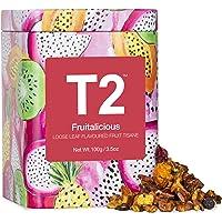 T2 Tea Fruitalicious Fruit Tea, Loose Leaf Fruit Tea in T2 Icon Tin 2020, 100 g