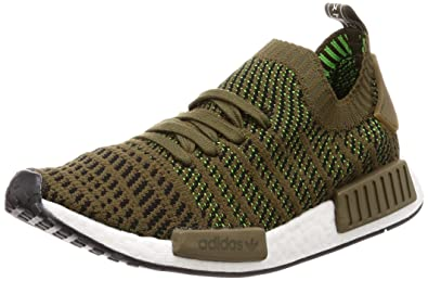 more photos 78e30 f1690 adidas - NMDR1 Stlt Primeknit - CQ2389 - Color  Olive - Size  8.5
