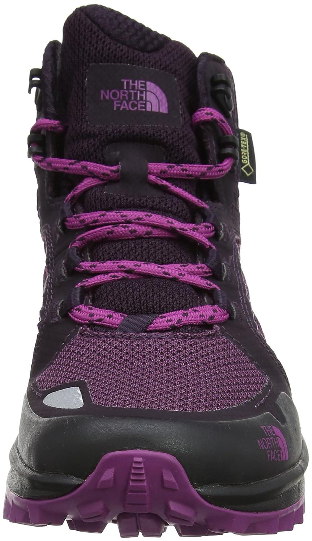 Litewave Fastpack Mid Gore-Tex, Botas de Senderismo para Mujer, Morado (Galaxy Purple/Wild Aster Purple), 41 EU The North Face