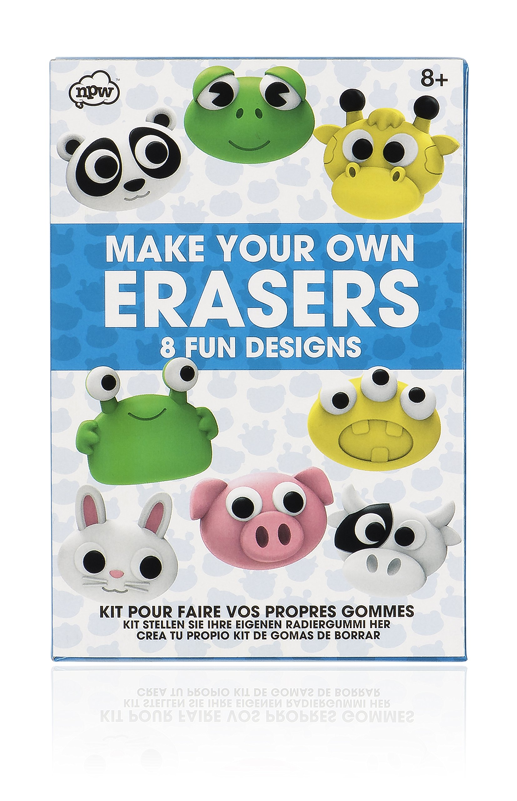 NPW-USA Make Your Own Erasers Kit by NPW (Image #1)