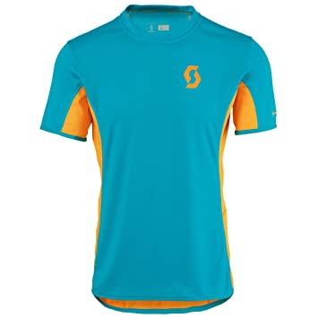 Scott - Trail Run Crew S/SL Shirt, Color Azul, Talla XXL: Amazon.es: Deportes y aire libre