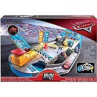 Disney - Cars Pista Pinball Florida Racers 1 Mini Racer Incluso, trasportabile,, FPR05