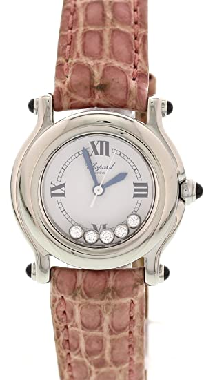 Chopard Reloj De Cuarzo Suizo De Deporte Feliz 27/8245 23 para Mujeres: Chopard: Amazon.es: Relojes
