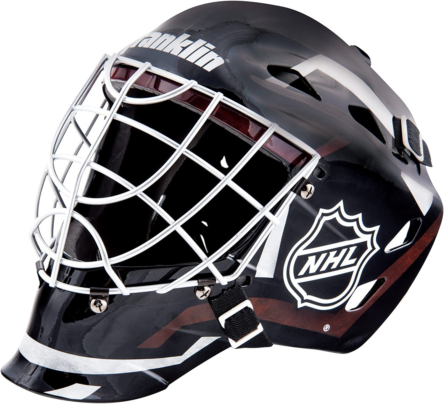 Franklin Sports Youth Hockey Goalie Masks -Street Hockey Goalie Mask for Kids - GFM1500 - Perfect for Street and Indoor Hockey - NHL : Sports & Outdoors