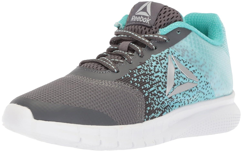 Reebok Women's Instalite Run Track Shoe B073XBNZTS 12 B(M) US|Ash Grey/Blue Lagoon/Solid Teal/White/Silver