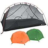 Hyke & Byke Zion 1 and 2 Person Backpacking Tents with Footprint - Lightweight Two Door Ultralight Dome Camping Tent