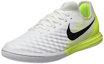 48397379f8ba Nike Men's Magistax Finale Ii Ic Footbal Shoes, White (White/Black Volt)