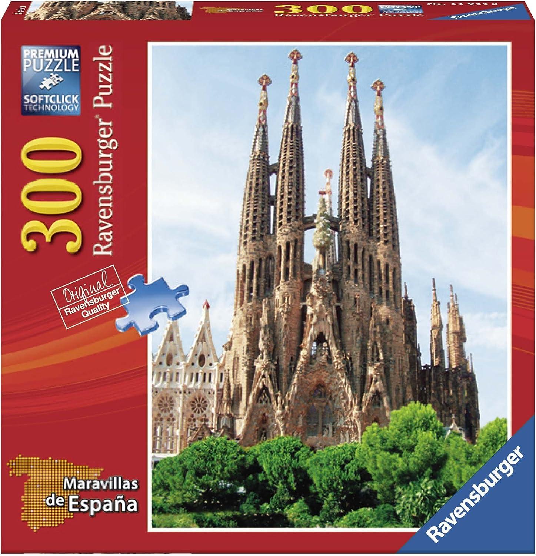 Ravensburger - Maravillas de España: La Sagrada Familia, Puzzle de 300 Piezas (14044 2): Amazon.es: Juguetes y juegos