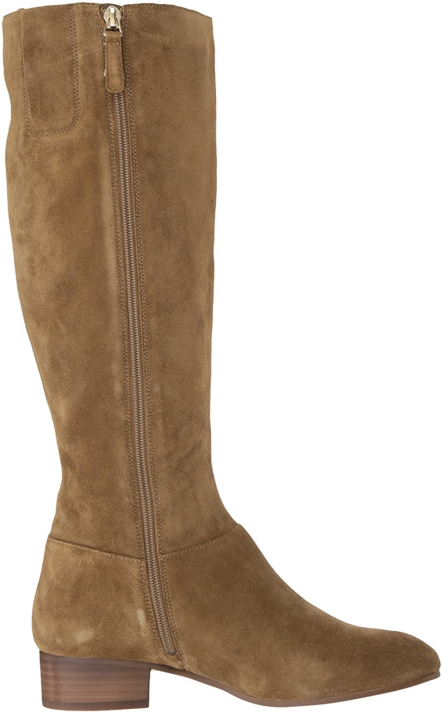 Nine West Women's Oreyan Knee High Boot Suede B01MZIDJ2U 7 B(M) US|Green Suede Boot cdef6a