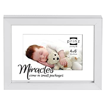 Amazon.com - PRINZ 4x6 It\'s Me Time Miracle Frame in Silver Finish -