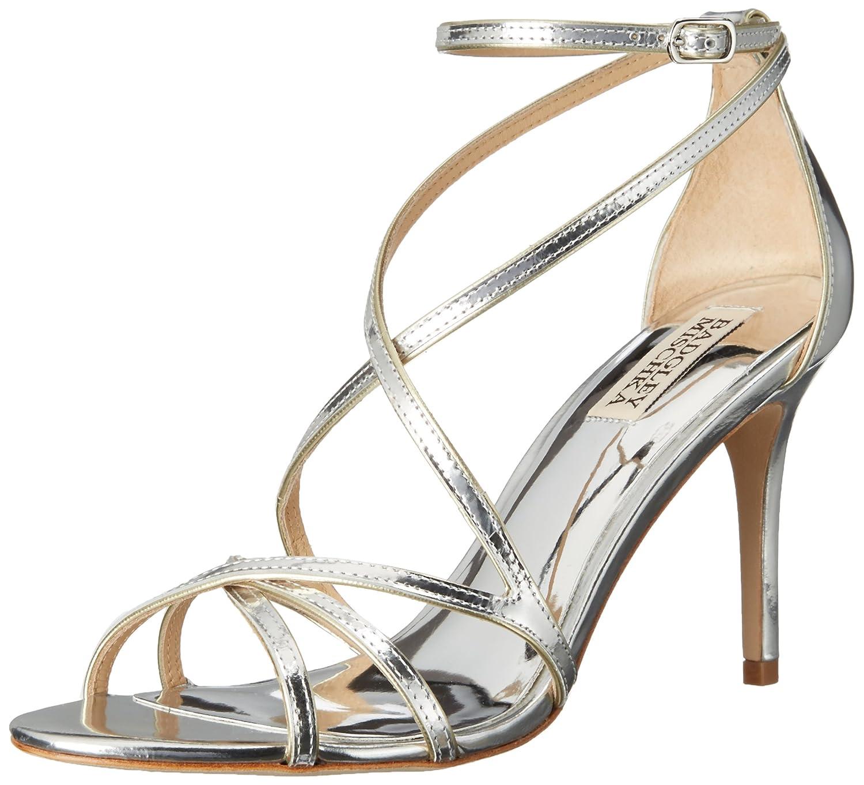 Argent Badgley Mischka Wohommes Lillian Dress Sandal 10 B(M) US