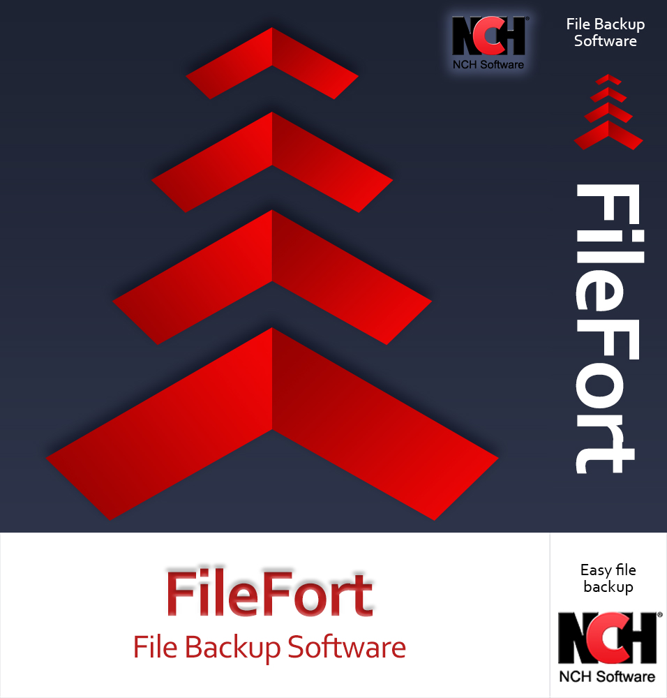 FileFort Backup Software - Automate the Back Up of Your Critical Data and Files [Download] (Software Imaging Drive)