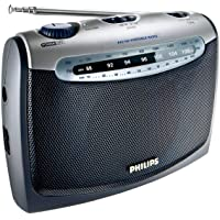 Philips AE2160 Radio Portable - Bleu et Gris