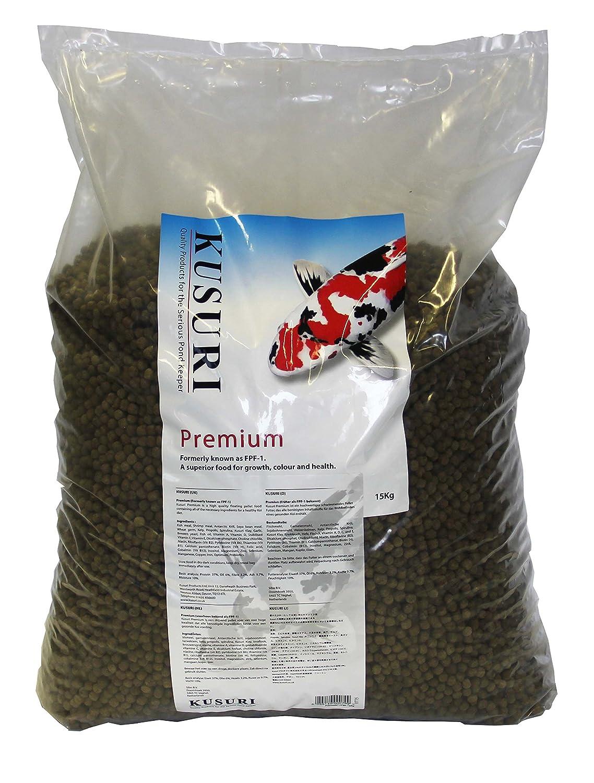 Kusuri Koi Food Premium, Large, 10 mm, 15 kg
