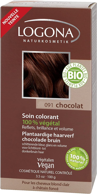 Logona Colorante Veg. 091 Castaño Choco 100G Logona 400 g
