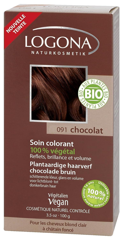 logona soin colorant chocolat 100 g - Soin Colorant Logona
