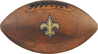 Game Master NFL New Orleans Saints Junior Wilson Throwback Football, 11-Inch, Brown
