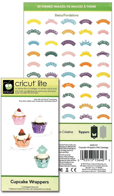 Knorr Prandell Cricut Lite - Cartucho (diseño de envoltorios para magdalenas): Amazon.es: Hogar