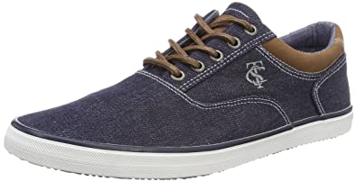 4881507, Chaussures Bateau Homme, Blau (Blue), 45 EUTom Tailor