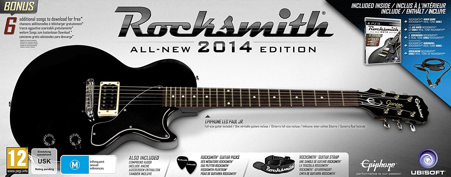 Rocksmith 2014 Edition and Epiphone Les Paul Guitar
