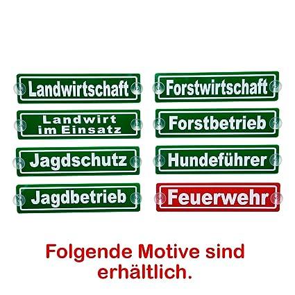 Autoschild Hundeführer KFZ-Innenschild