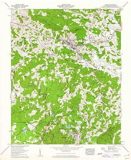 Amazon Com Yellowmaps Boone Nc Topo Map 1 24000 Scale 7 5 X 7 5