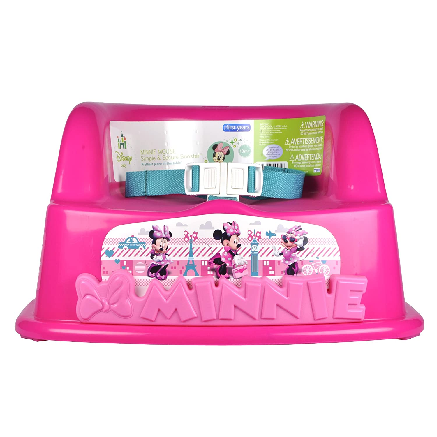 The First Years Booster Seat Minnie Mouse Amazonca Baby