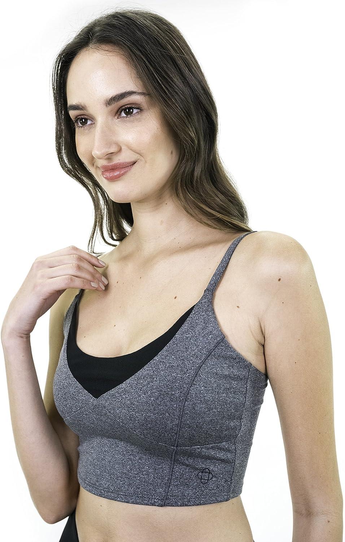 Activewear Adjustable Straps Comfortable Workout Yoga Tops Ananda Bra Satva Sports Bras