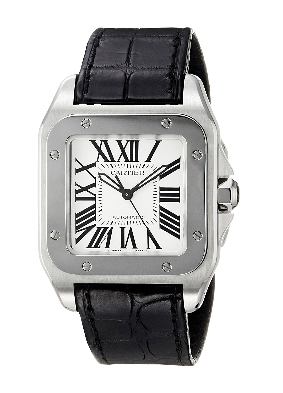 watch s men watches santos cartier tone two