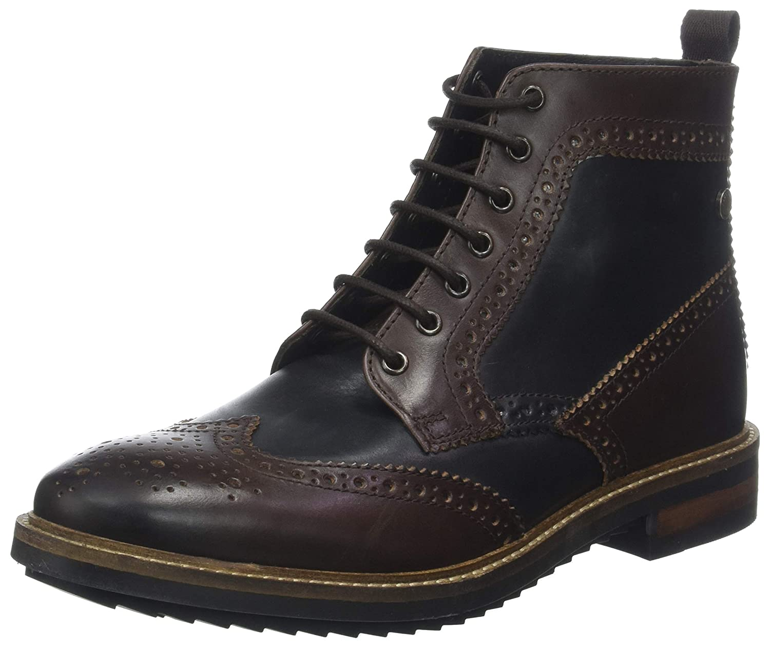 TALLA 42 EU. Base London Hopkins - Botines Hombre