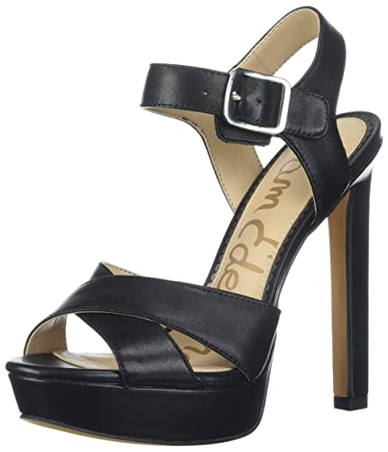 Sam Edelman Women's Willa Patent Leather Platform High-Heel Sandals CkJA7o