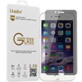 iPhone 6S Plus Screen Protector , iAnder iPhone 6 Plus Privacy Premium Tempered Glass Screen Protector [0.3mm Ultra Clear Scratch Proof High Definition]