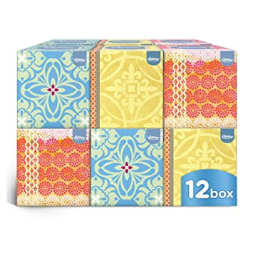 Awesome Kleenex Collection Cube   12 Boxes (56 Tissues Per Box, 672 Tissues Total) Nice Look