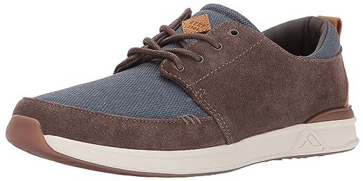 Reef Men's Rover Low Se Fashion Sneaker, Blue/Grey, ...