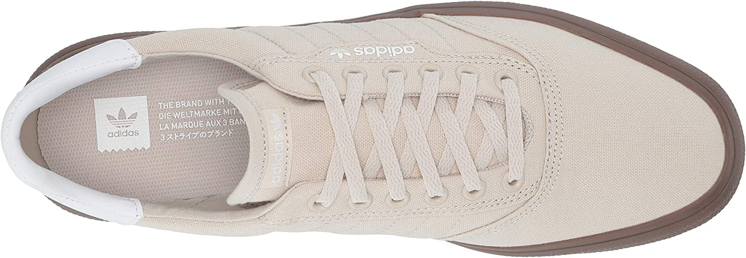 adidas Originals 3mc, Tennis Mixte Adulte Clear Brown White Gum