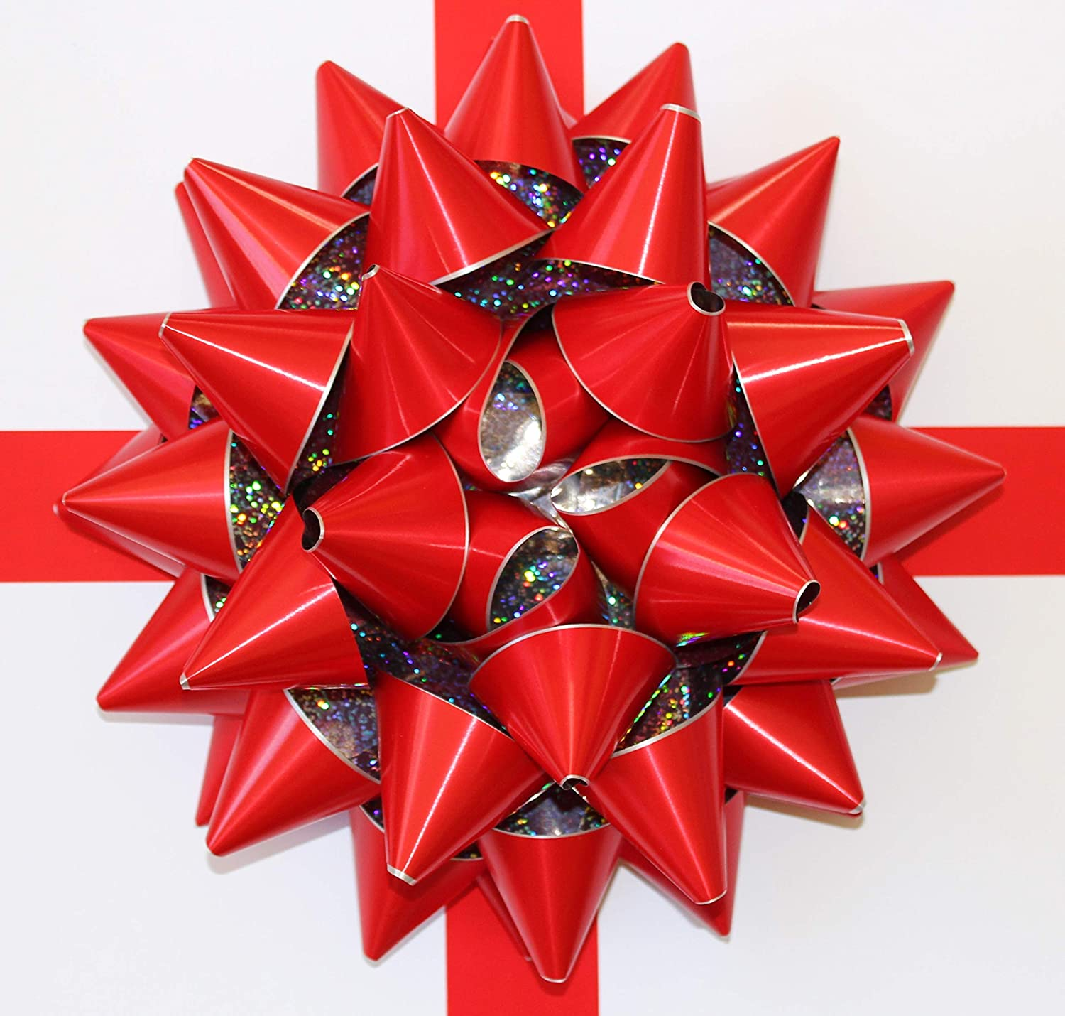 30cm RED Giant Bow for Large Present Venue Decor New car bow Oversized Gift Bow