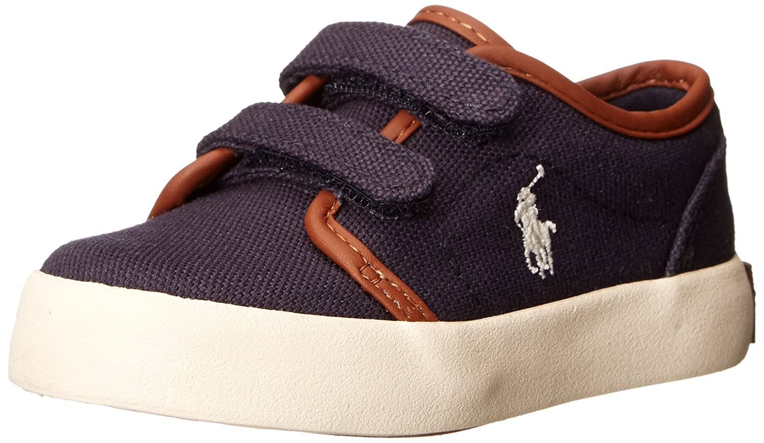 Polo Ralph Lauren Kids Ethan Low EZ Sneaker (Toddler) ETHAN LOW EZ