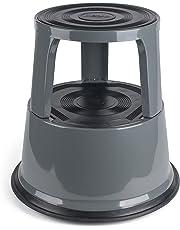 PAVO PREMIUM Rolling Kick Step Stool - Dark Grey