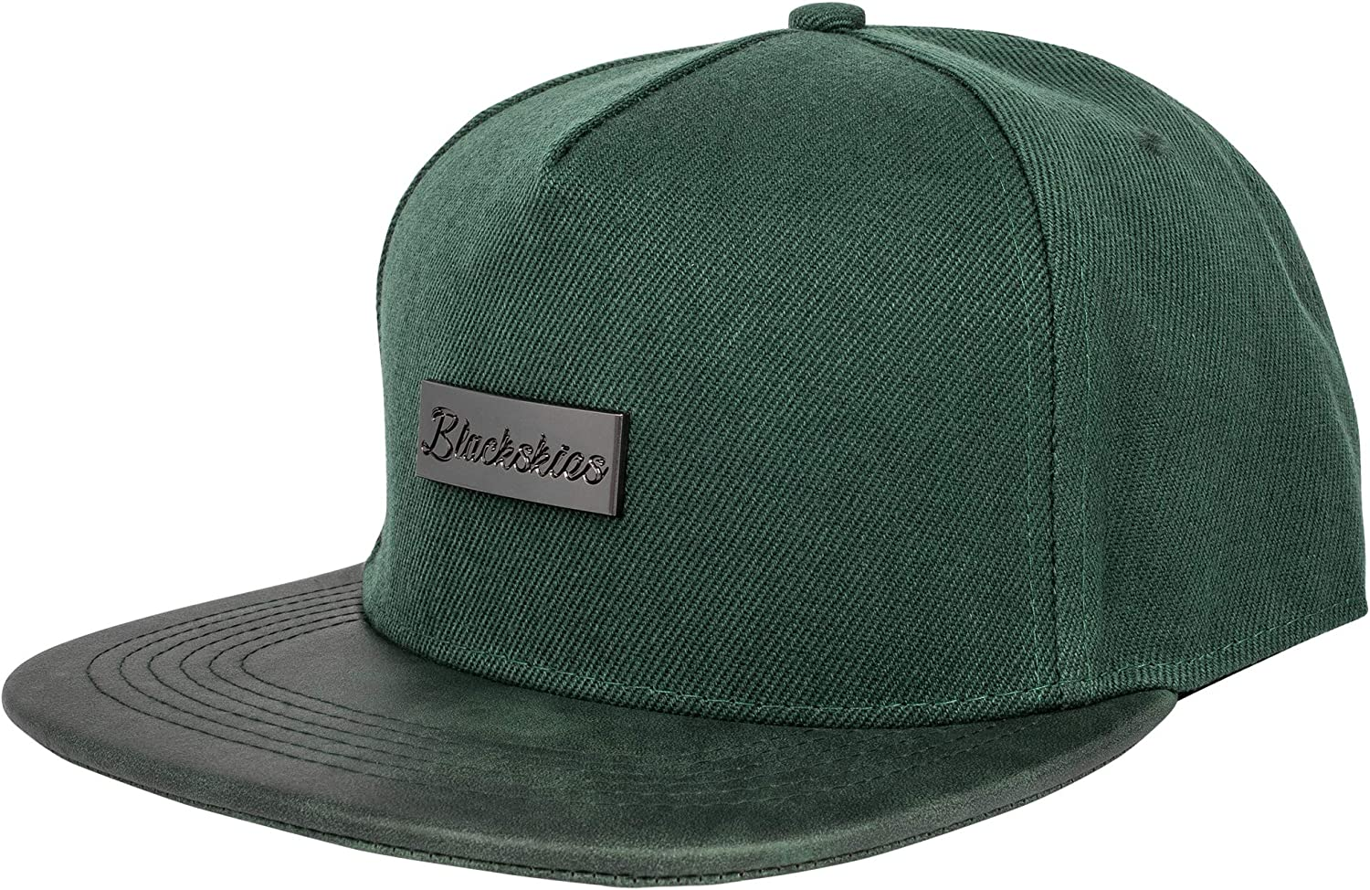Hat Berretto da Baseball Classic Hip Hop Uomo Donna 5-Panel Cappello Estivo Pelle Blackskies Vanguard Snapback cap