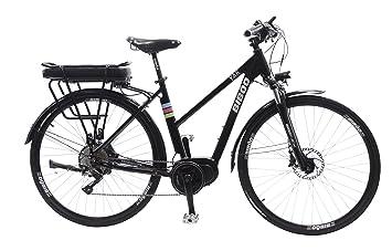 Bibóo Bikes Yak Bicicleta Eléctrica, Unisex Adulto, Negro, M