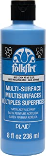 product image for FolkArt Multi-Surface Paint (8 oz), , Look At Me Blue