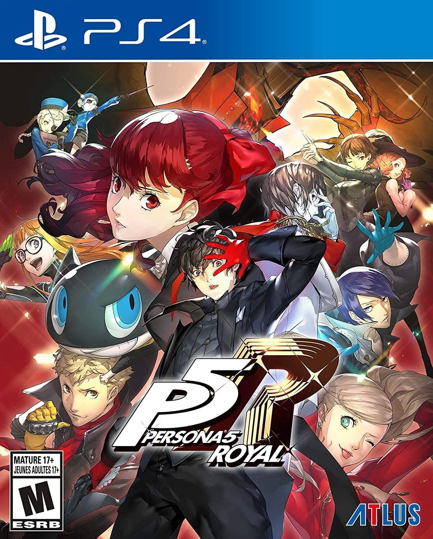 Persona 5 Royal Cover Art