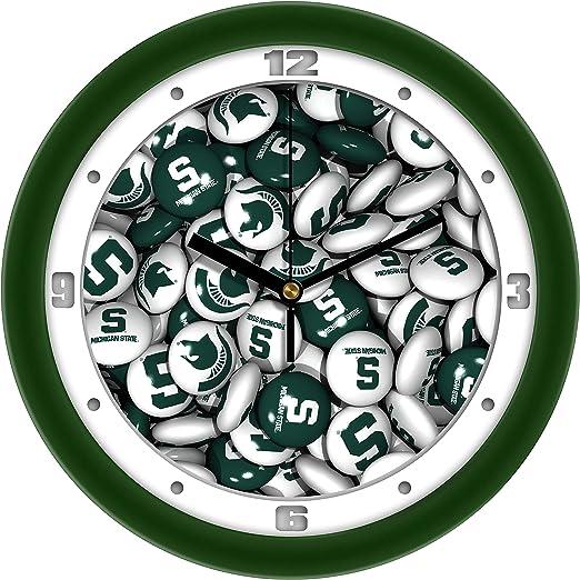 SunTime NCAA Wright State Raiders Traditional Wall Clock