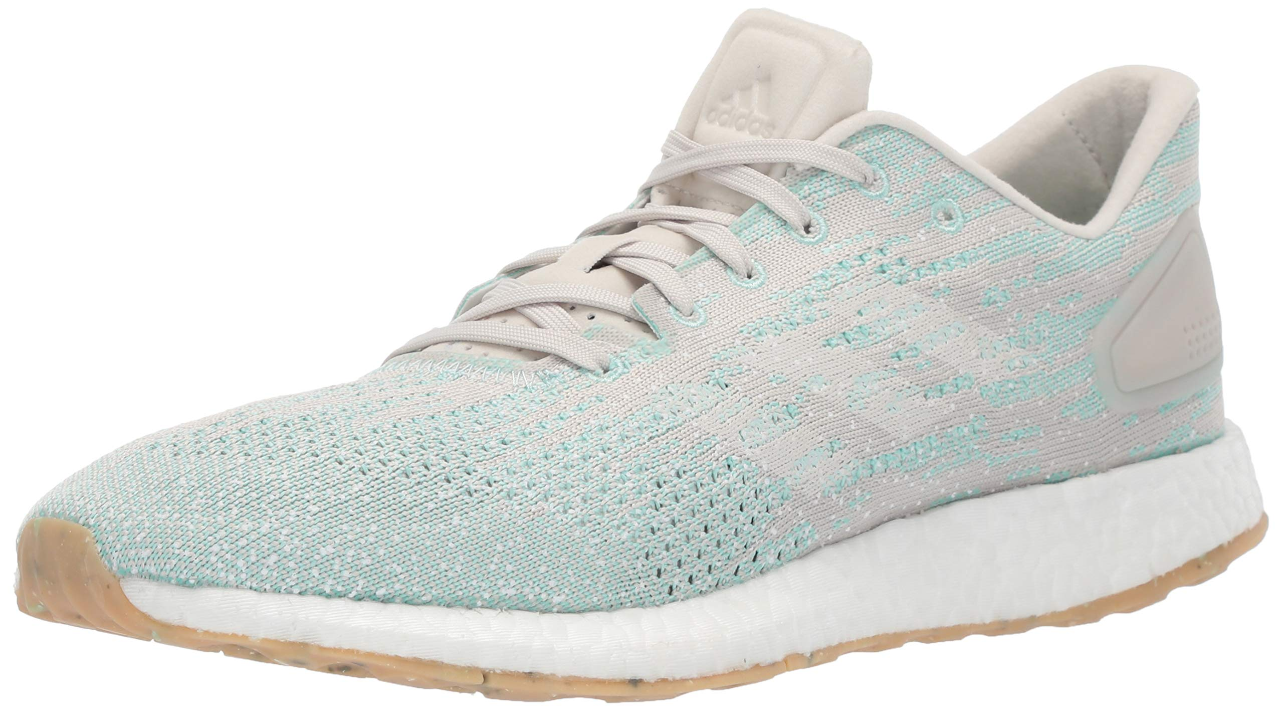 adidas Women's Pureboost DPR Running Shoes, raw White/Clear Mint, 11 M US by adidas