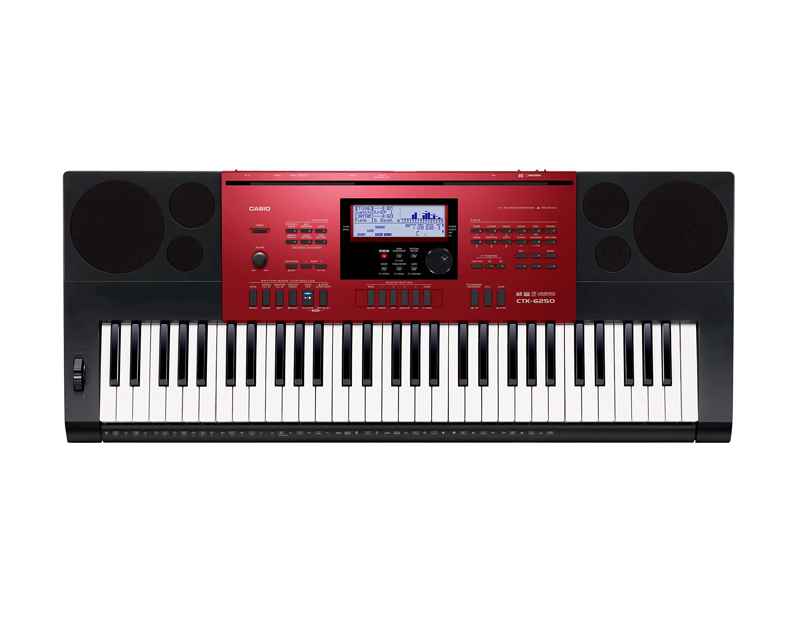 Sound Of Casio CTK 6250