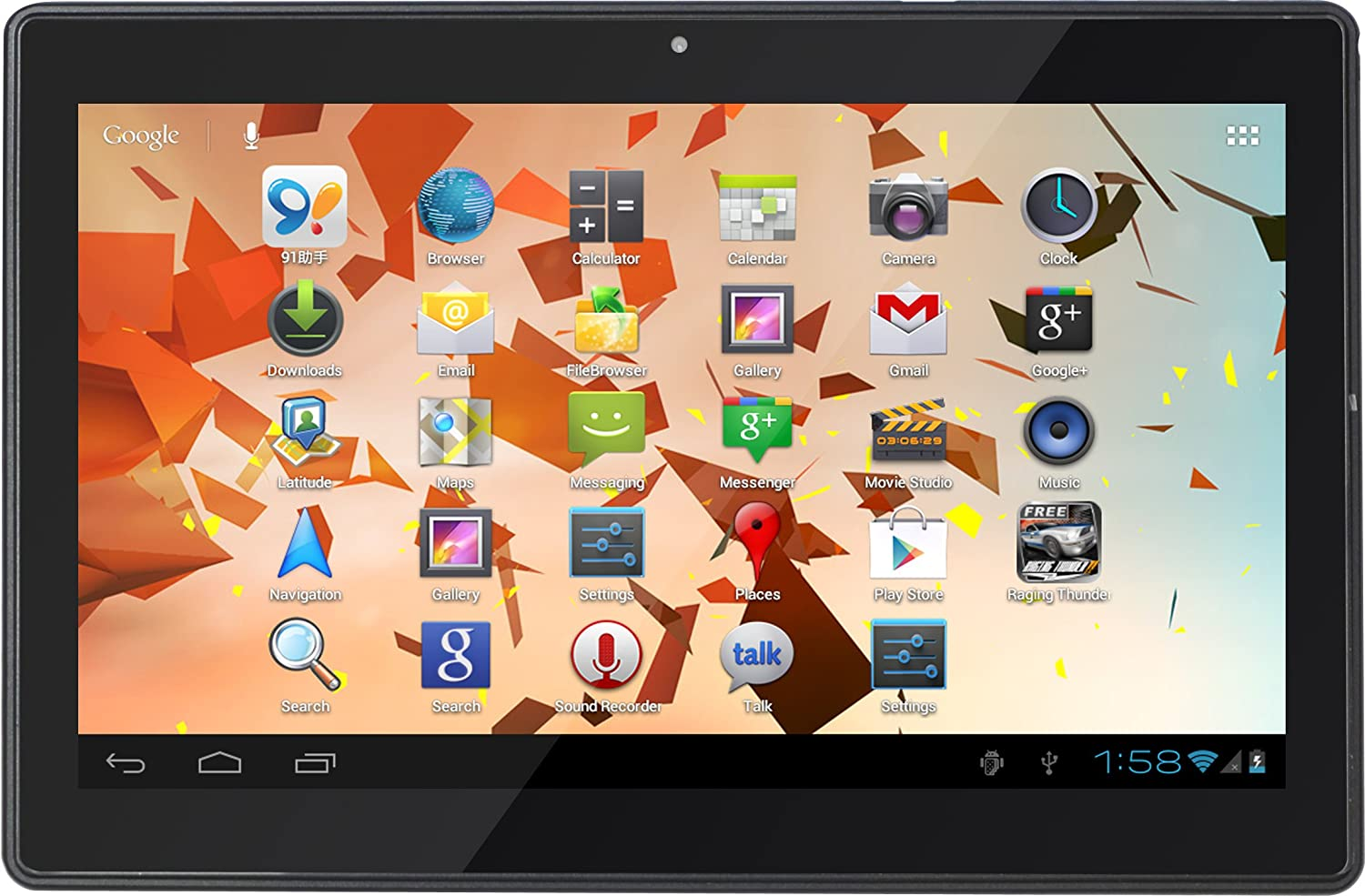 Zenithink C94 - Touchscreen Tablet - 10 Inch HD (1024 x 600